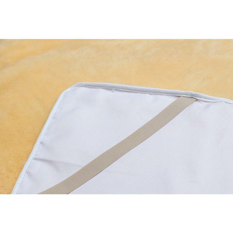medizinische lammfell betteinlage bettauflage aus lammfell unterbett. Black Bedroom Furniture Sets. Home Design Ideas