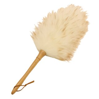 Duster Lammfell Staubwedel creme-weiss