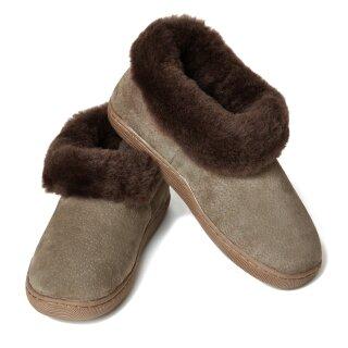 new product cbbd0 6d25f Hausschuhe hoher Rist, warme Pantoffeln für Damen und Herren ...