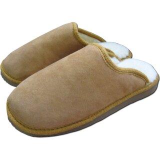 premium selection b89b3 ebddd Hausschuhe warme Lammfell Pantoffeln für Herren und Damen