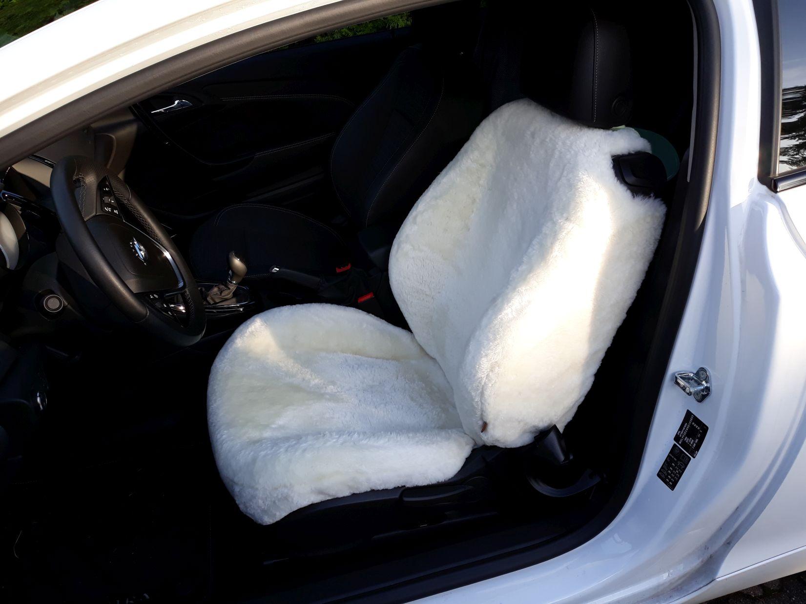 Lammfell Sitzbezug Opel Astra GTC