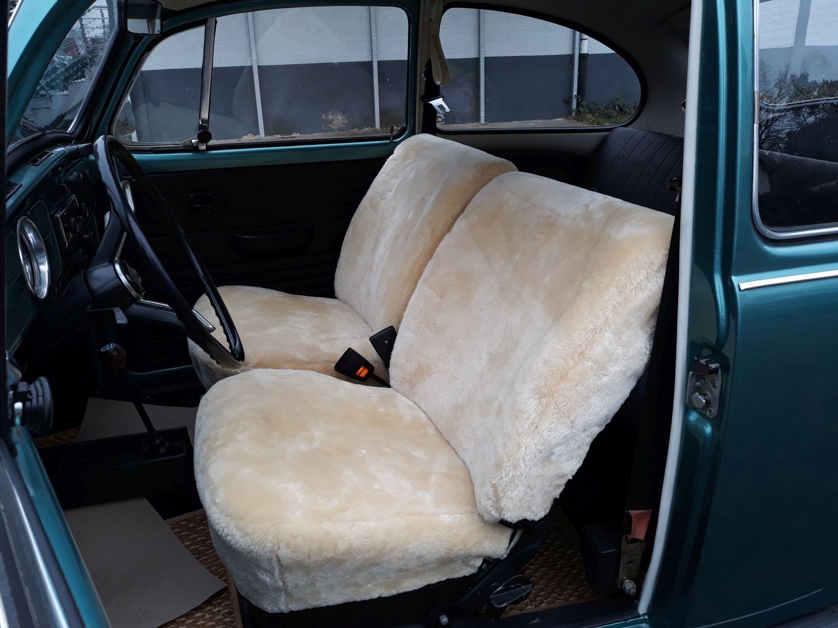 Lammfell Sitzbezüge VW Käfer