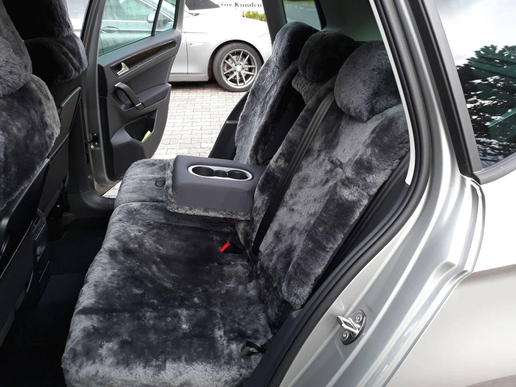 Lammfel Autositzbezug Rückbankbezug VW Golf