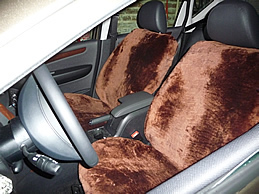 Autositzbezüge Lammfell