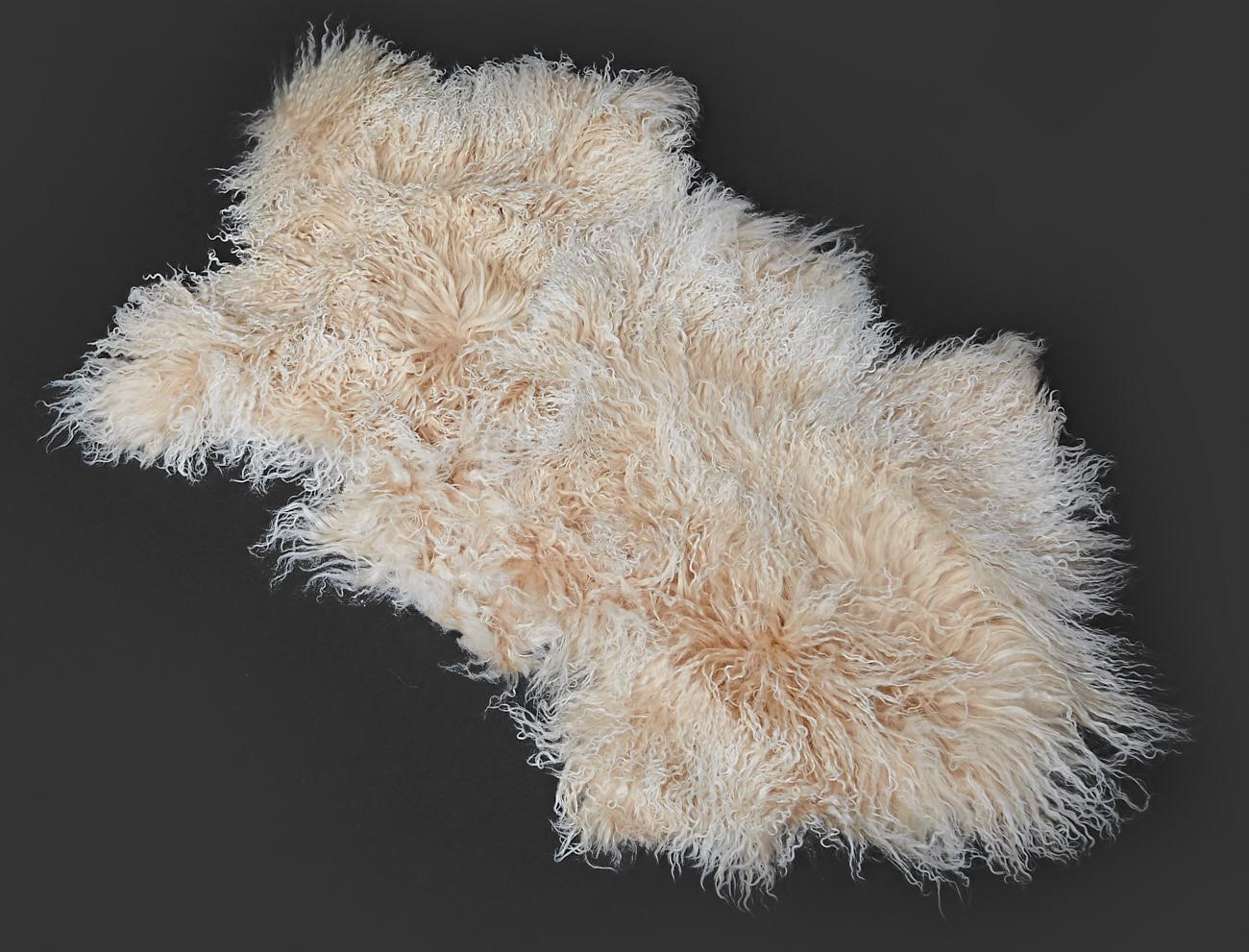 Tibet Lammfell Teppich